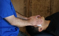 Photo Reiki Head Hand Position Blog